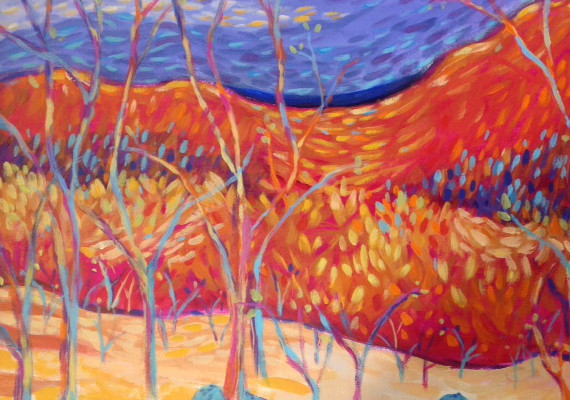 Artist : Liz Maltman                                 <br>                                 Medium : Acrylic on Canvas                                 <br>                                 Dimensions : 18 in x 24 in                                  <br>                                 For Sale
